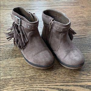 Children's Place fringe boots